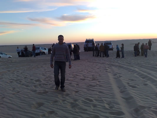 Sahara de Nefta – Sud de la Tunisie